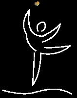 Le gout de la sante - logo traits blancs fond transparent